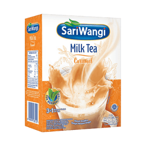 sari wangi milk tea caramel