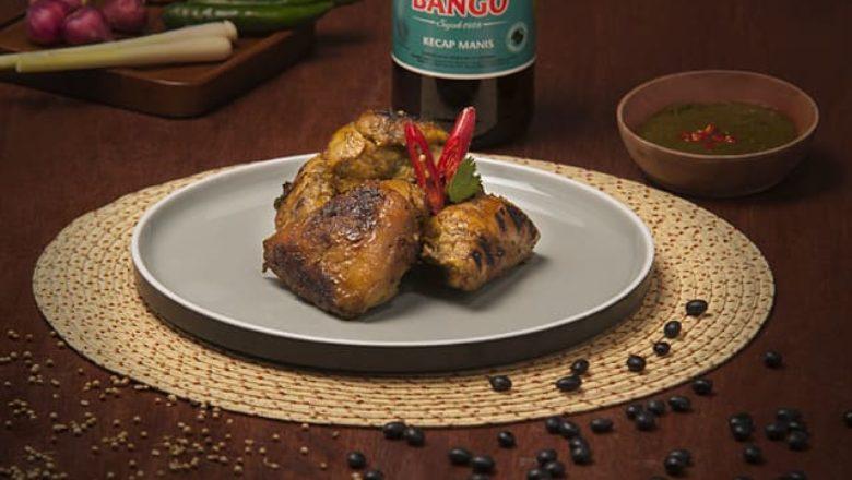 Hasil dari cara membuat ayam bakar Manado.