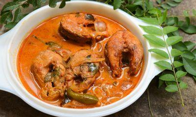 Hasil cara masak ikan patin gulai tersaji dalam mangkuk.