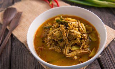Resep Gulai Nangka seenak rumah makan Padang.