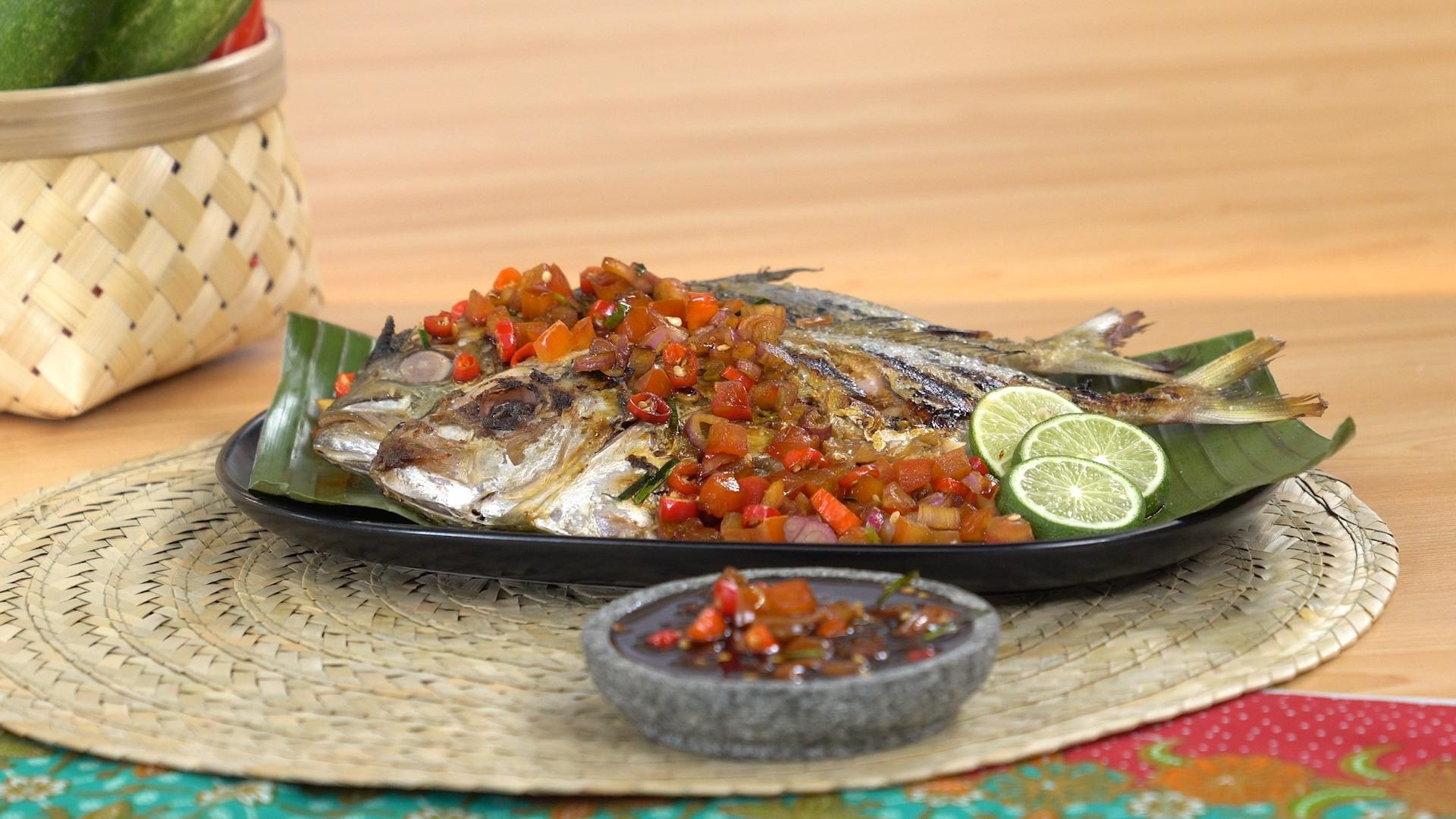 Resep Ikan Kuwe Bakar Sambal Kecap