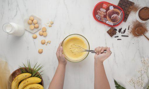 banana pudding step 1