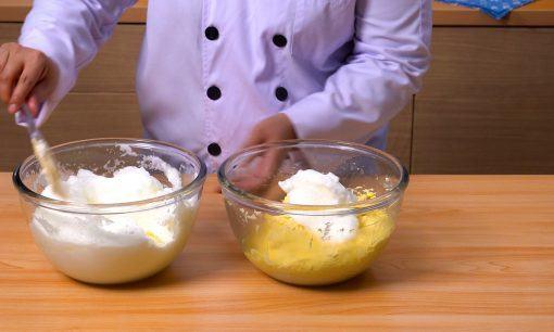 Marmer cake sultan step 5