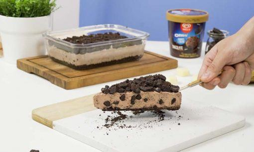 no bake cookies cheesecake siap