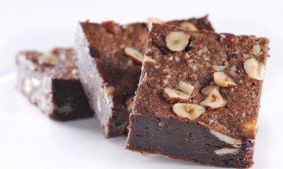 Brownies panggang siap disantap.